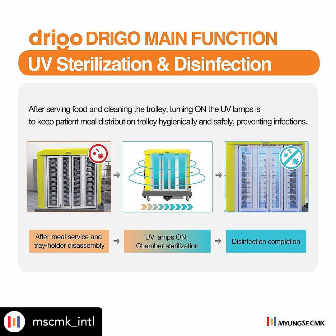 Drigo functions – Sterilization & Disinfection