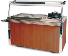 Carvery Unit MODEL VCCV4: Academy Maple Finish
