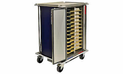 Single Tray Meal Service Trolleys