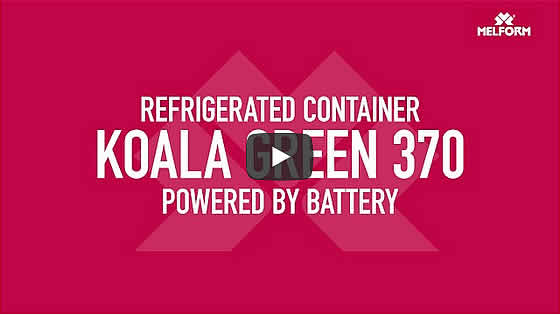 Refrigerated container Koala 370 Green