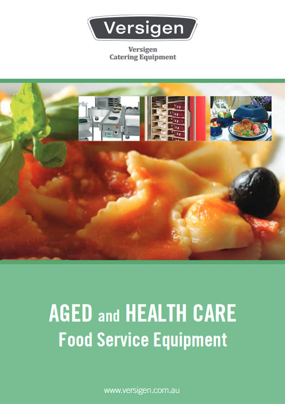 Aged and healthcare foodservice equipment brochure