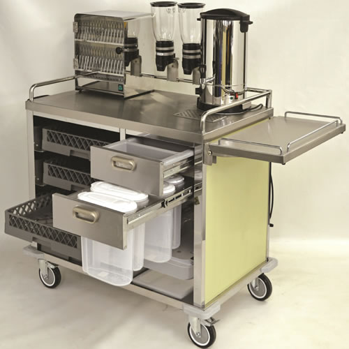 Breakfast Service Trolley