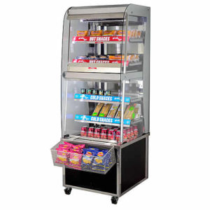 MHC, hot and cold grab and go unit