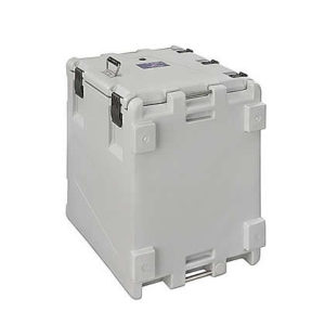 Front opening insulated container, model AF150V