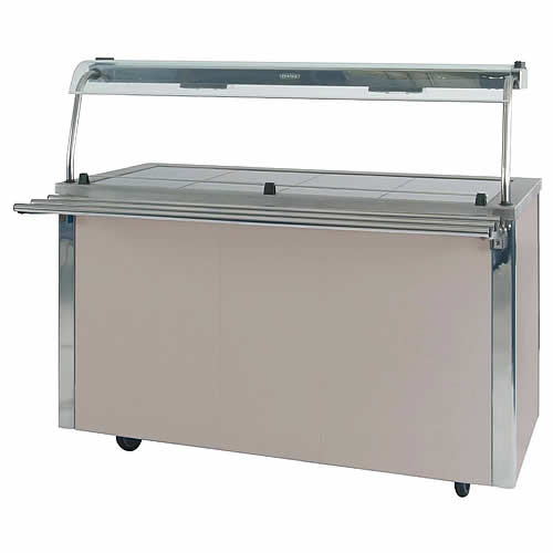 Hot Food Service Counter, model VCHT4/VCQG4