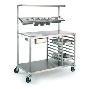 Chefs preparation trolley, CPT