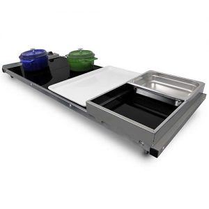VT4, 4 panel countertop food warming bain marie alternative