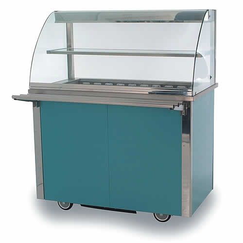 Refrigerated deli display counter, model VCRDD3