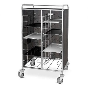 Metalcarrelli universal meal tray trolley