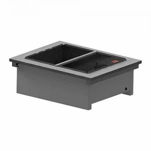 Dry heat drop-in bain marie with no gantry, model D2BMNG