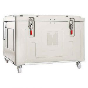 DryIcy 540 Insulated Container with castors