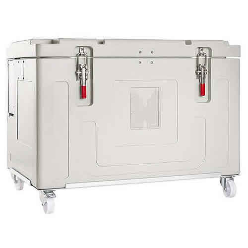 Insulated container for dry ice, model Dricy 360