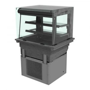 Drop-in REFRIGERATED DISPLAY 2 Shelf Multi-deck, model D2RDLSLF