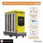 Drigo self driving meal tray distribution
